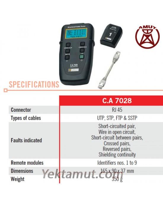 تستر کابل شبکه مدل CA7028 کاوین آرنوکس