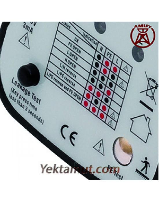 تست کلید جریان نشتی مدل VT11 مولتي متريکس