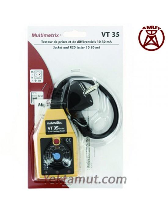 تستر کلید جریان نشتی VT35 مولتیمتریکس