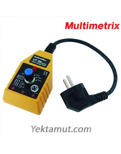 تستر کلید جریان نشتی مدل VT35 مولتیمتریکس