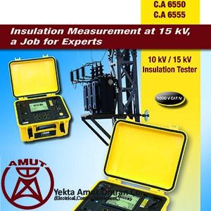 تستر مقاومت عایقی 10Kv / 15Kv