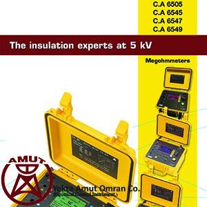تستر مقاومت عایقی تا 5000 ولت