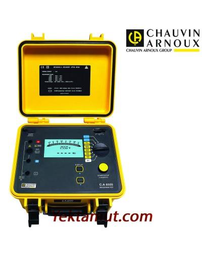 تستر مقاومت عایقی 5 کیلوولت مدل CA6505 چاوین آرنوکس