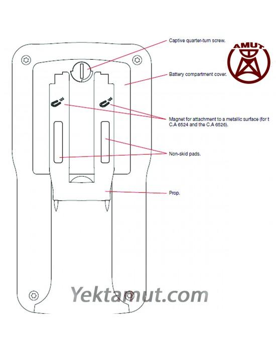 تستر مقاومت عایقی مدل CA6526 چاوین آرنوکس