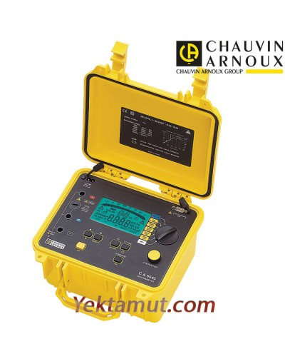 تستر مقاومت عایقی 5 کیلوولت مدل CA6545 چاوین آرنوکس