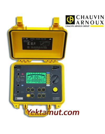 تستر مقاومت عایقی 5 کیلوولت مدل CA6547 چاوین آرنوکس