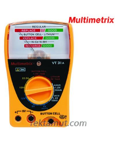 تستر باتری مدل VT31A مولتی متریکس