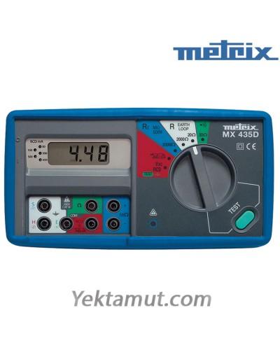 مولتی فانکشن تستر 5 کاره مدل MX435D متریکس