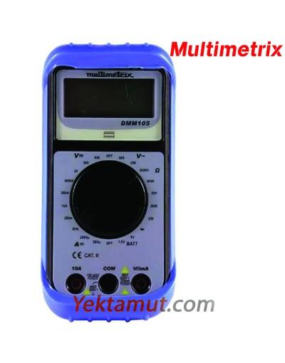 مولتی متر دیجیتالی مدل DMM 105 مولتی متریکس