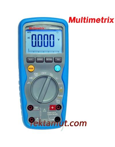 مولتی متر مدل DMM220 مولتی متریکس