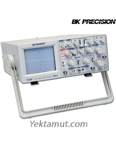 اسیلوسکوپ آنالوگ مدل 2125A محصول BK Presicion - سی مگا هرتز