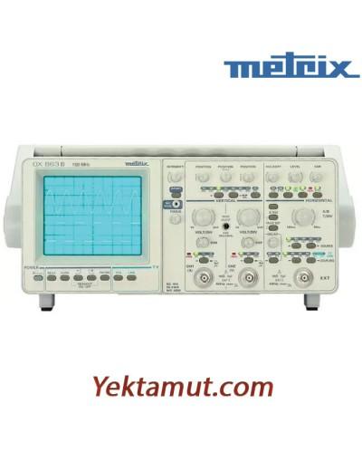 اسیلوسکوپ آنالوگ مدل OX863B متریکس - 2 کانال 150 مگاهرتز