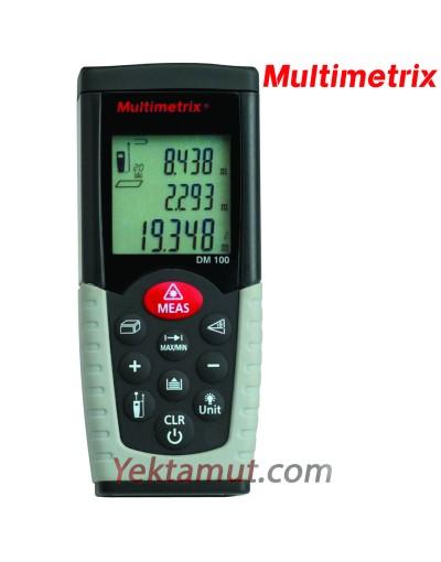 متر لیزری مدل DM100 مولتیمتریکس