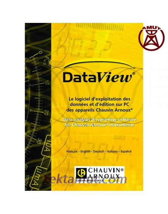 نرم افزار Data View کاوین آرنوکس پردازش و تحلیل داده ها