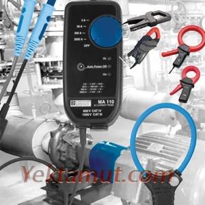 سنسورها / کلمپ های جریانی (Current clamps / sensors)